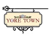 YoreTowninVintageSign